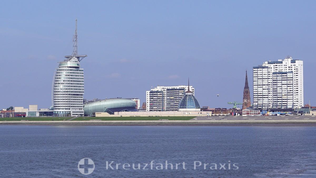 Bremerhaven's panorama