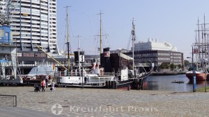 Bremerhaven - old port and museum ships