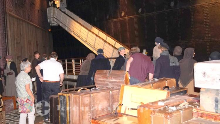 Deutsches Auswandererhaus - An Bord verstautes Gepäck
