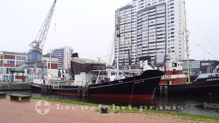 Deutsches Schifffahrtsmuseum - Schiffe im Museumshafen