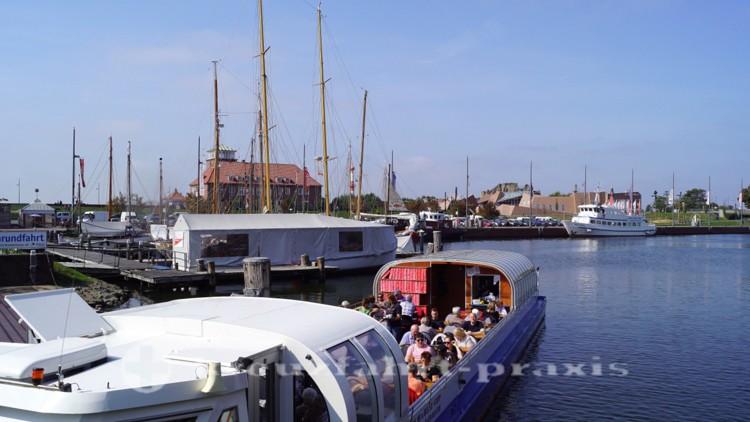 Bereit zur Hafenrundfahrt
