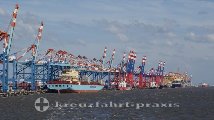 Bremerhavens Containerbrücken
