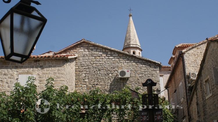 Budva - Häuserensemble