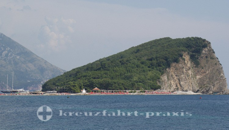 Budva - Insel Sveti Nikola