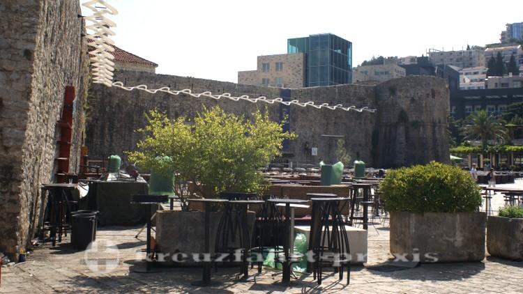 Budva - Teil der Stadtmauer