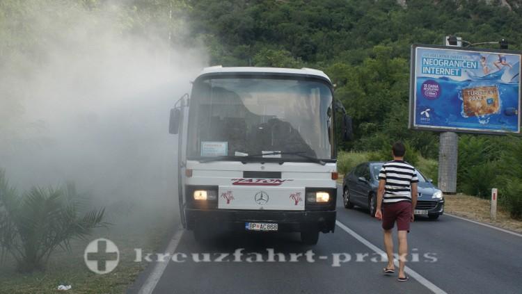 Kotor - Brennender Omnibus