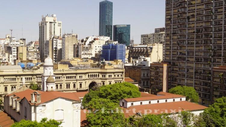 Über den Dächern von Buenos Aires