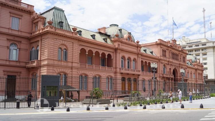 Präsidentenpalast - Casa Rosada