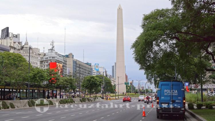Plaza de la República mit dem Obelisco