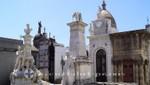 Grabdenkmäler des Friedhof la Recoleta