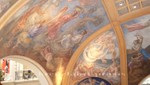 Deckenmalereien in den Galerias Pacifico