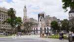 Plaza de Mayo mit dem Cabildo