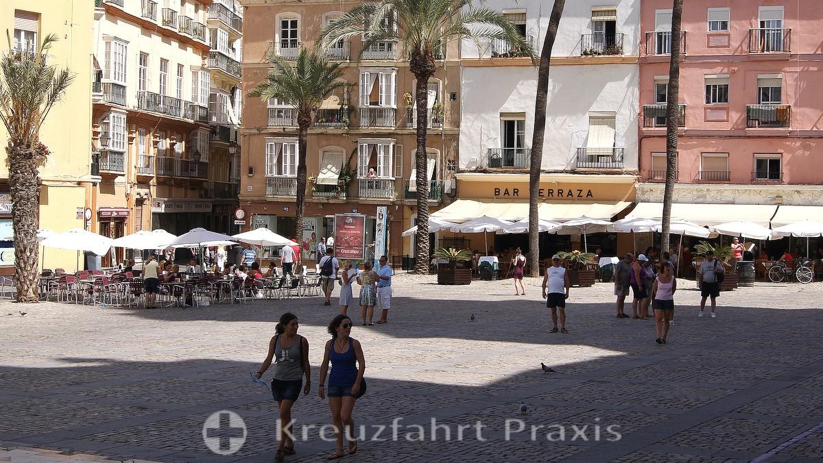Die Plaza de la Catedral