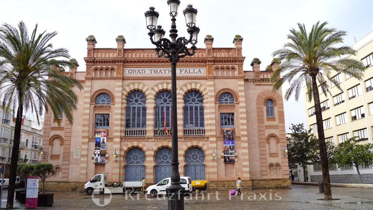 Das Gran Teatro Falla auf der Plaza Fragela