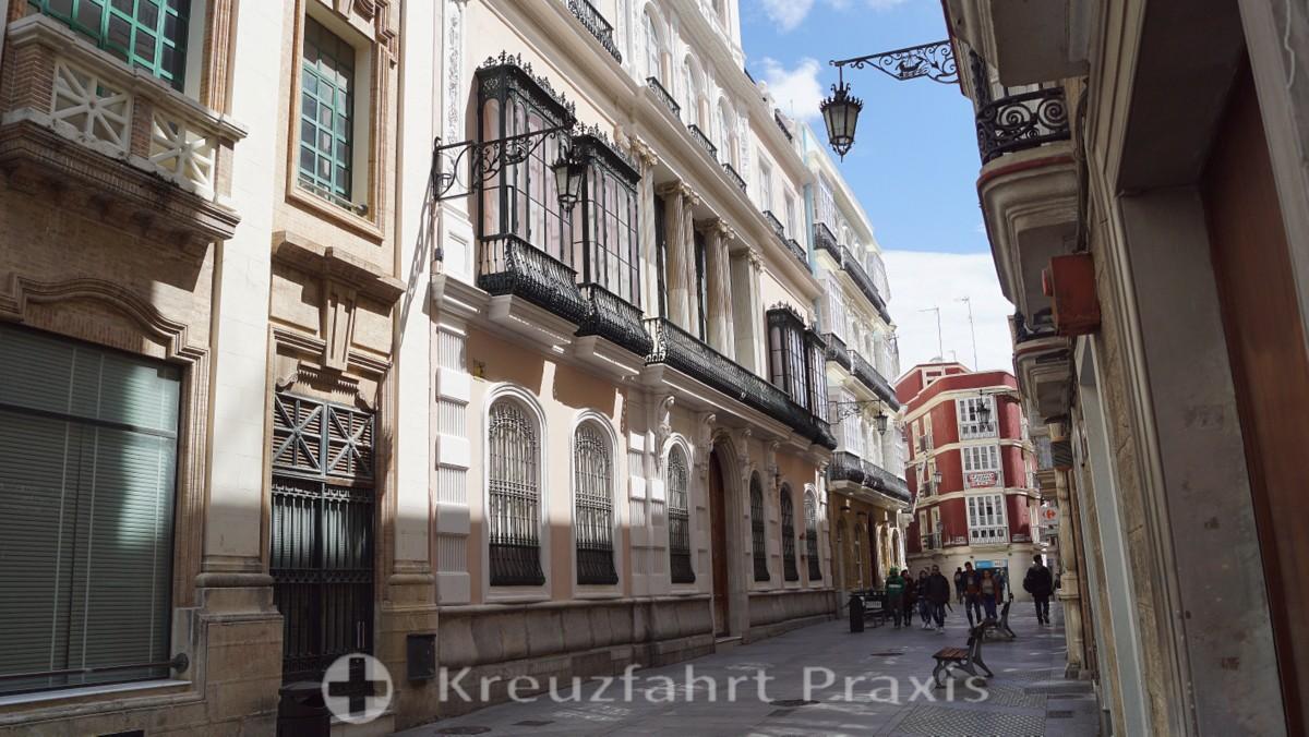 Die Casa Palacio de los Mora in der Calle Ancha