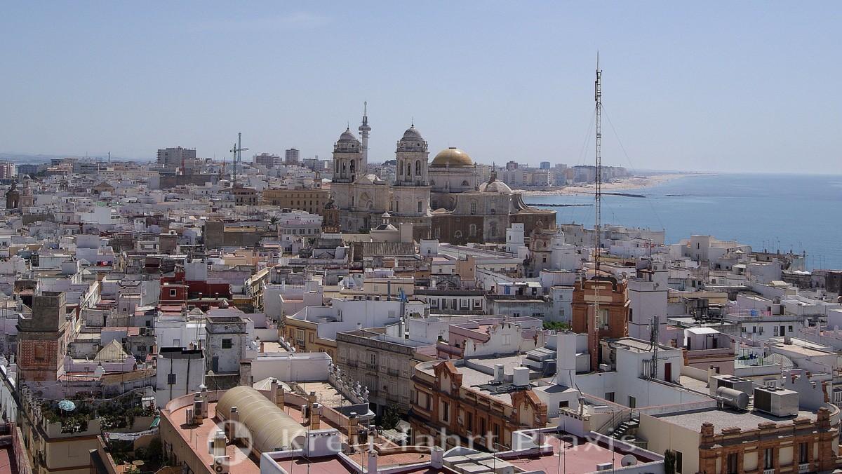 Cádiz von oben gesehen