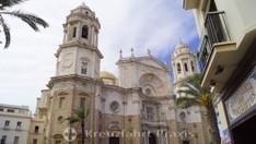 Cádiz - Die Kathedrale vom Heiligen Kreuz
