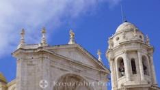 Die Kathedrale vom Heiligen Kreuz - Glockenturm