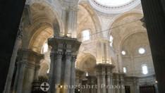 Die Kathedrale vom Heiligen Kreuz - Deckenkonstruktion