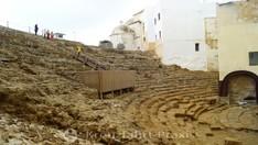 Cádiz - Zuschauerränge des Teatro Romano