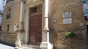 Eingang zum Torre Tavira
