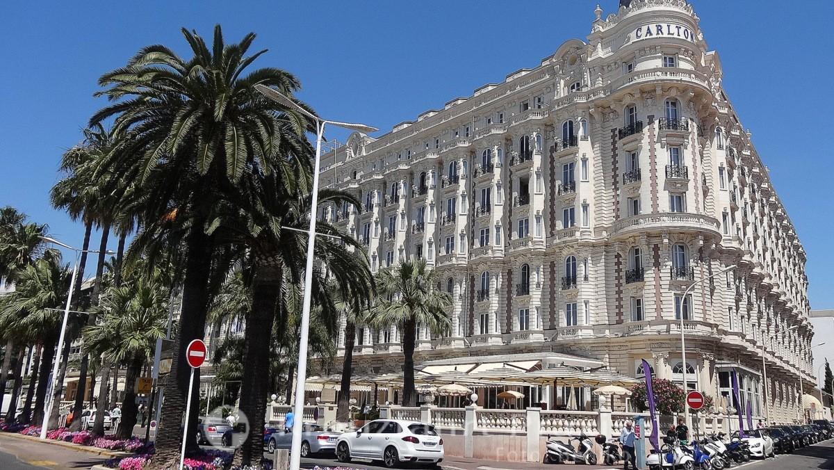 Fünf-Sterne Hotel Carlton Intercontinental Croisette