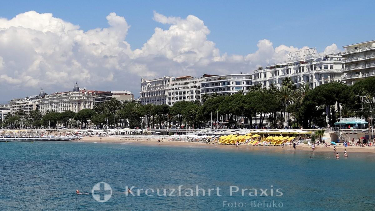 Cannes - touristische Hauptstadt der Riviera