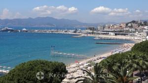 Bucht von Cannes in westlicher Richtung