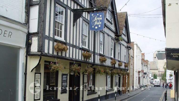 Canterbury - Straßenszene