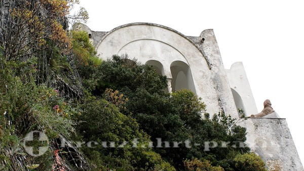 Capri - Villa San Michele in Anacapri -Detail