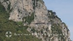 Capri - Straße hinauf nach Anacapri