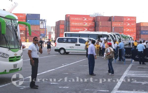 Cartagena - Der Kreuzfahrthafen von Cartagena