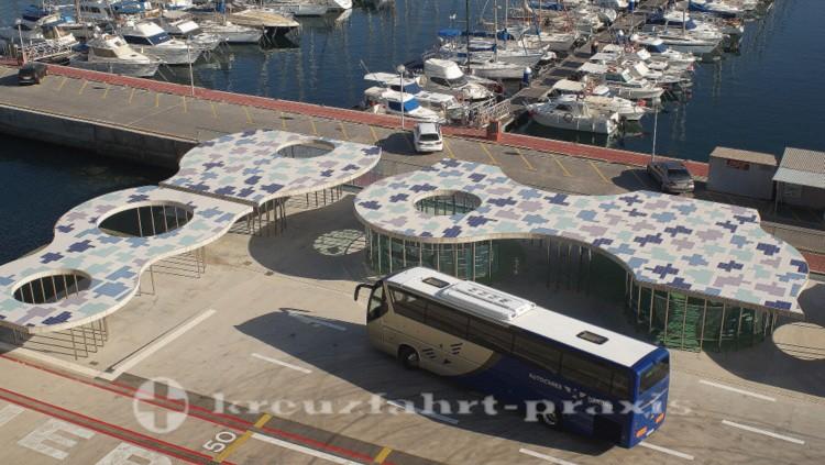 Das Kreuzfahrtterminal von Cartagena