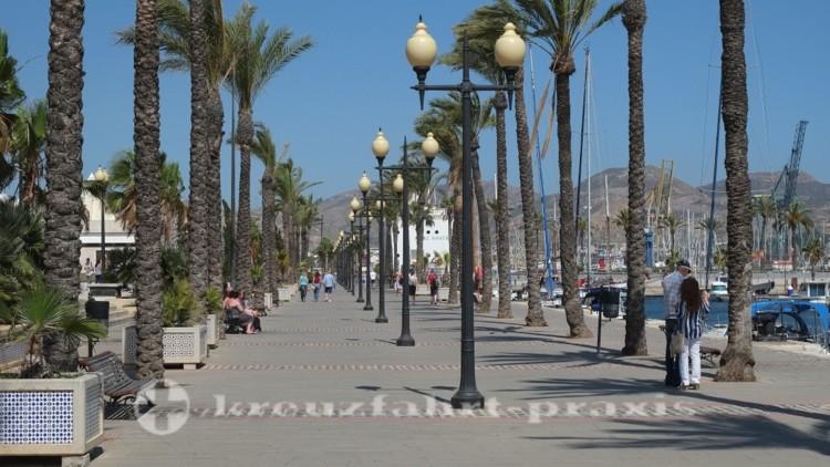 Cartagena - Hafenpromenade
