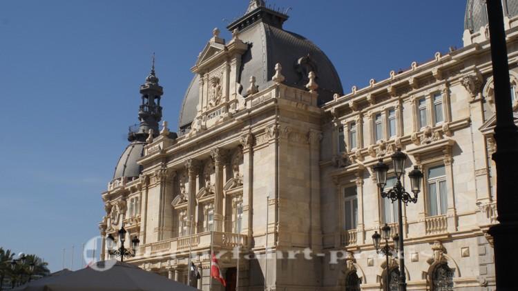 Facade of the town hall