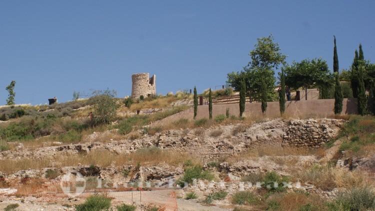 Cartagena - Forum Romanum mit Windmühle