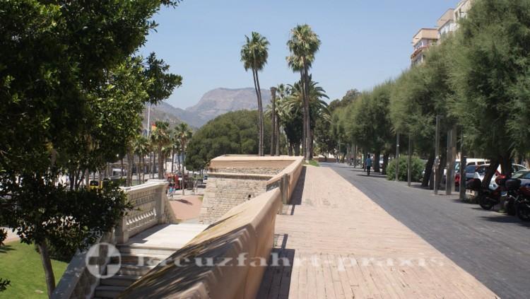 Cartagena - Carlos lll. Wallanlage