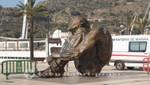 Cartagena - Skulptur el Zulo - Zum Gedenken an Opfer des Terrors