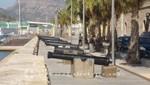 Cartagena - Historische Kanonen vor dem Museo Naval