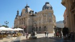 Cartagena - Rathaus und Plaza Ayuntamiento
