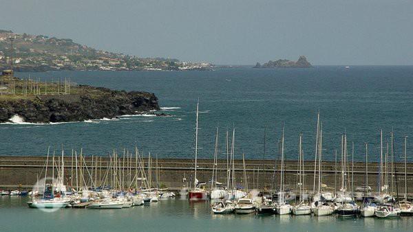 Das Ionische Meer vor Catania