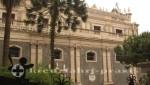 Seitenansicht der Kathedrale von Catania