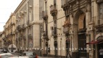Catania - Palazzi an der Via Vittorio Emanuele II