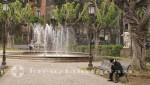 Catania - Parkanlage gegenüber der Porta Uzeda