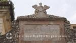 Taormina - Inschrift an der Porta Messina