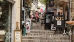 Taormina - Läden und Bars wohin man schaut