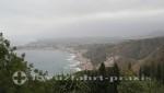 Taormina - Blick auf den Golf von Giardini Naxos