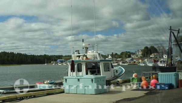 Charlottetown - Prince Edward Island -Fischereihafen