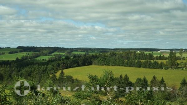 Charlottetown - Prince Edward Island - Fruchtbares Farmland