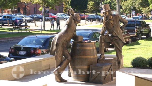 Charlottetown - Prince Edward Island - Skulptur im öffentlichen Raum
